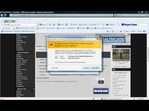 How Put A Savegame Files On GTA San Andreas