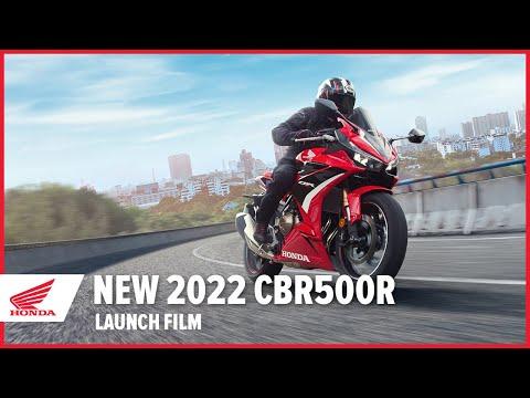 New 2022 CBR500R Launch Film