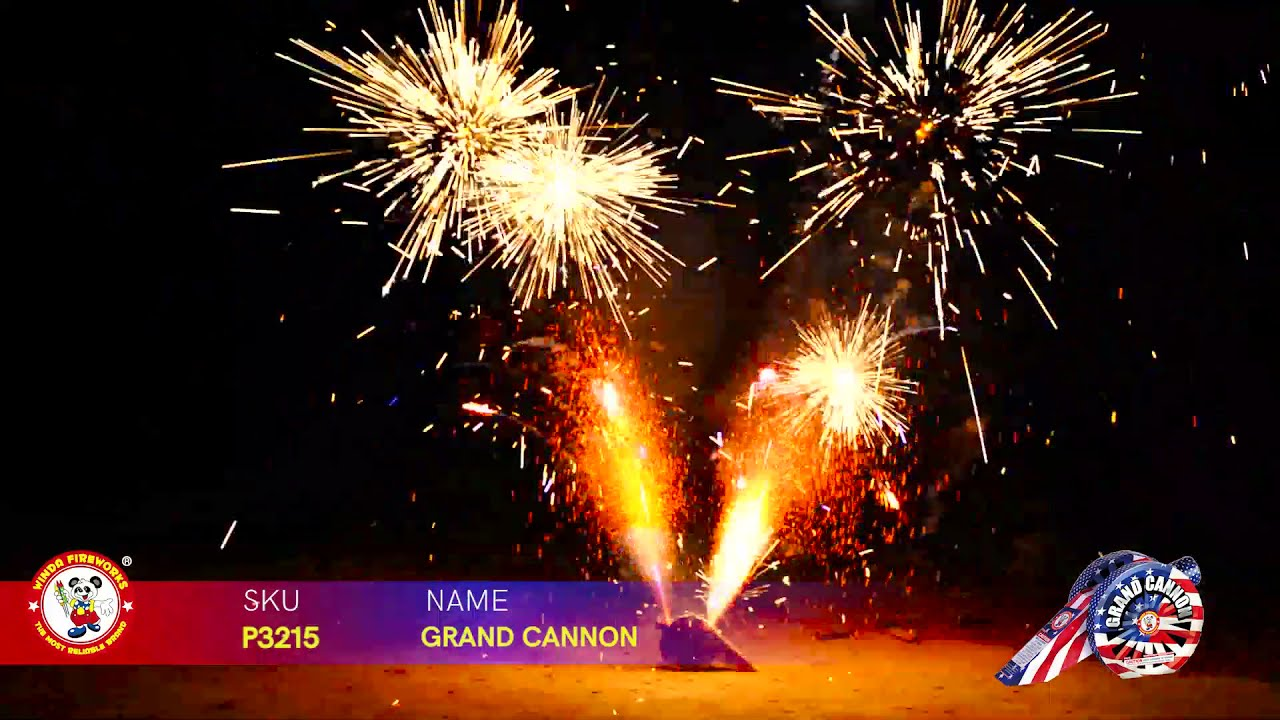 GRAND CANNON P3215 WINDA FIREWORKS 2022 NEW ITEMS