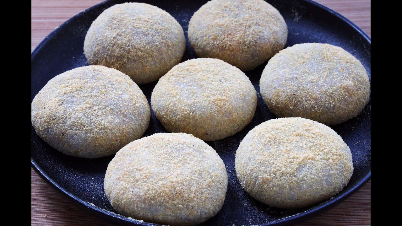 【糯米糍粑】糯米粉這樣做,既是甜點又是早餐,軟糯香甜,吃壹口就上癮了!