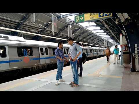 Uttam Nagar, Metro Station Visit | A Short Trip of New Delhi-India