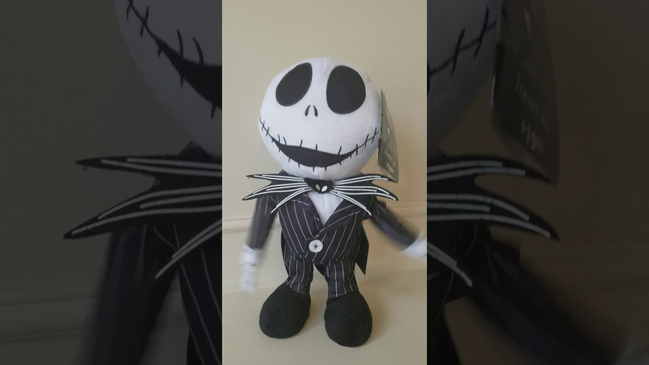 Jack Skellington Plush Musical Animated Snowman