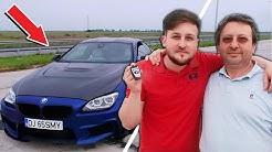 L-AM SURPRINS PE TATA CU MASINA VISURILOR LUI | BMW M6 750 de CAI PUTERE *a ramas socat*
