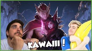 BELLI E BRAVI: Rakan e Xayah - Uncut - League of Legends w/ Snitecs | snakino