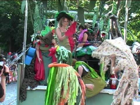 Karneval Der Kulturen 2011 Fsjk Siegerteam Wagen 68 Thema Dschungel