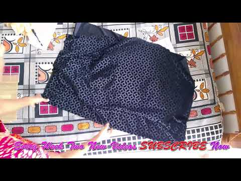 Transparent boat neck cutting and stitching  easy method full video