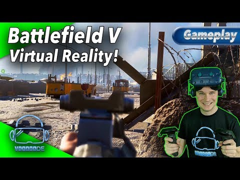 🎮 Battlefield V in Virtual Reality 🎮 - Die Open Beta auf der Vive Pro! [Battlefield 5 VR][VorpX]