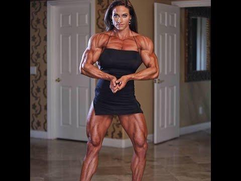 Theresa Ivanick Huge Female Bodybuilder Muscle