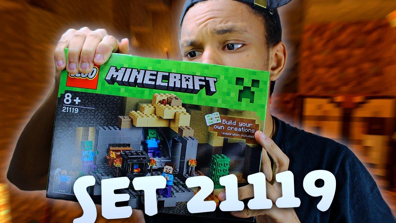 UNE GROTTE MINECRAFT DANS LA VRAIE VIE Lego Minecraft YouTube - Minecraft die grobten hauser