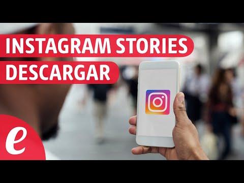 Como descargar historias de Instagram