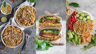 Vegan Summer Corn Recipe Challenge  Chris vs. Jasmine