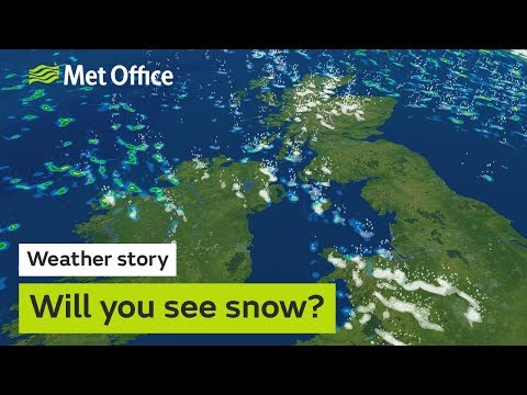 Weather story - Will you see snow?