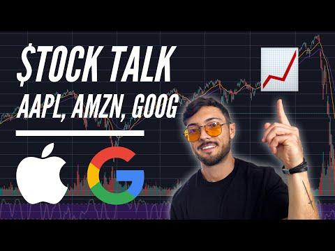 stock-talk:-apple-(aapl),-amazon-(amzn),-alphabet-(goog)-&-facebook-(fb)-analysis- -huge-earnings