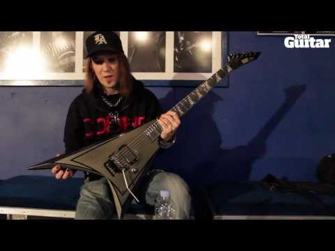 Me And My Guitar: Alexi Laiho's (Children Of Bodom) ESP Alexi Blacky