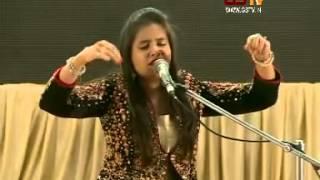 Aishwarya Majmudar Part 4 : Gujarat Samachar and Samanvay Kavya Sangeet Samaroh 2015