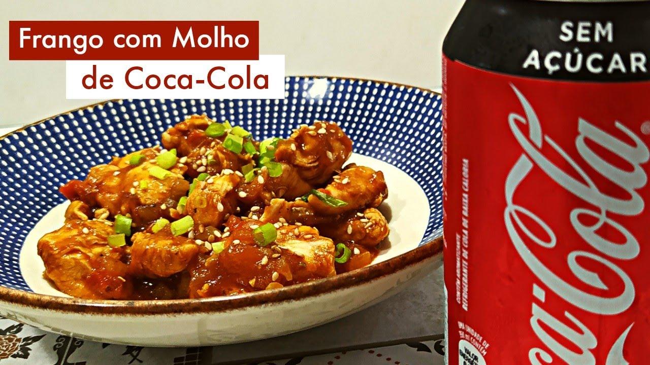 Frango com Coca Cola! Melhor frango do mundo!