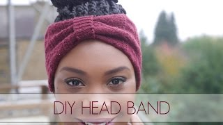 DIY Head Band Using An Old Sock!