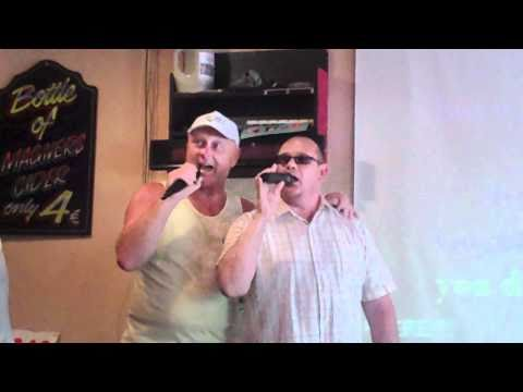 Curly Cols Karaoke Music Show - Presents - Curly And Dangerous Dave - Crystal Chandeliers .MP4