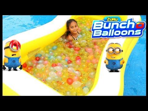 1000 Bunch O Balloons Water Balloons Despicable Me 3  Movie Family Fun Activities