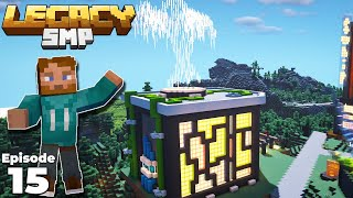Legacy SMP : Building an EPIC Industrial Tree Farm in Minecraft 1.15 Survival