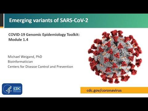 Module 1.4 - Emerging variants of SARS-CoV-2