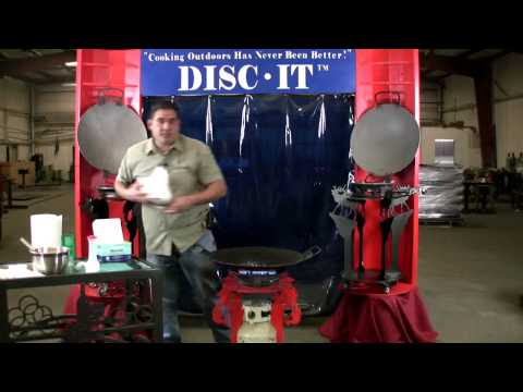 How To Clean Your Disc-It, Discada Plow Disk Cooker Grill