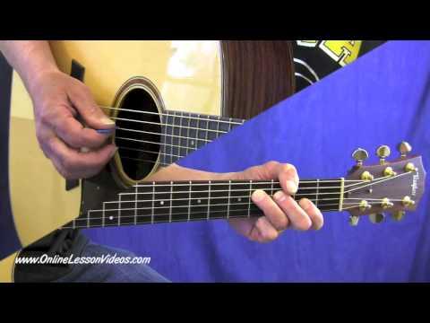 BLACKBERRY BLOSSOM - [HD] Bluegrass Guitar Lessons by Steve Johnston