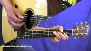 BLACKBERRY BLOSSOM - [HD] Bluegrass Guitar Lessons by Steve Johnston