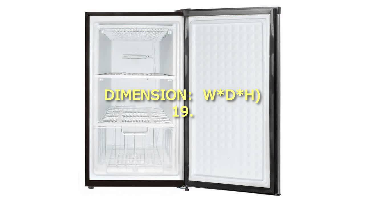 Midea stainless steel compact single reversible door upright freezers - Midea Whs 109f Stainless Steel Compact Single Reversible Door Upright Freezer