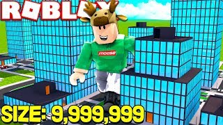 ROBLOX SIZE SIMULATOR! *9,999,999 SIZE IN ROBLOX*