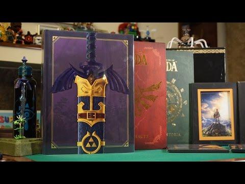 Unboxing The Legend of Zelda Art & Artifacts Limited Edition (Libro de Arte)