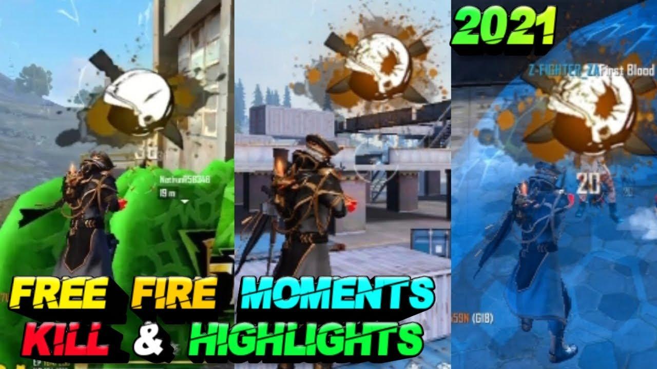Free Fire Moment Kill & Highlights 2021! Best Gaming Watch & Enjoy! Killing Moments! MVP Booyah!!!