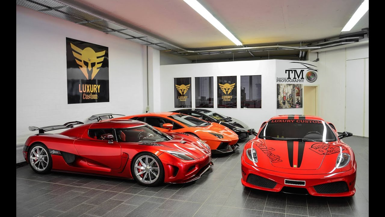 Luxury Custom S Garage Supercars In Switzerland Youtube