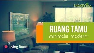 Ruang Tamu Minimalis Modern ▲ Inspirasi Desain Interior Rumah