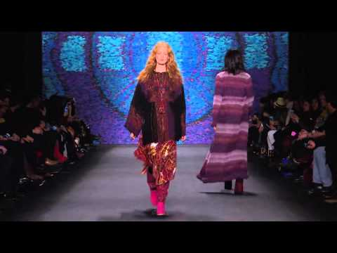 Anna Sui | Fall Winter 2015/2016 Full Fashion Show | Exclusive