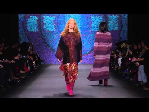 Anna Sui | Fall Winter 2015/2016 Full Fashion Show | Exclusive