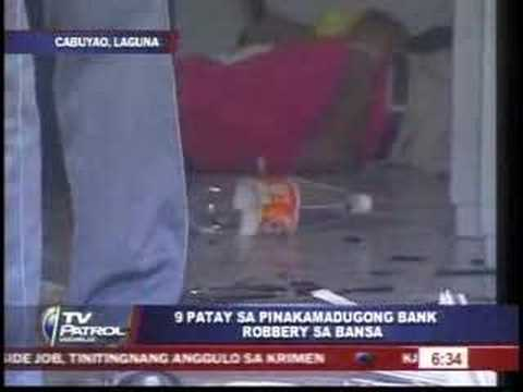 RCBC  HOLD-UP  Tv  Patrol