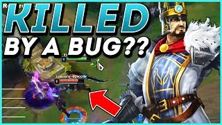 #1 CHALLENGER TRYNDAMERE MID SABOTAGED BY A BUG???