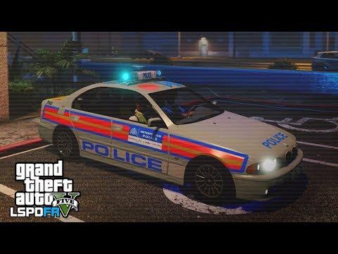 GTA 5 LSPDFR - THE BILL BMW E39 PATROL - The British way #103