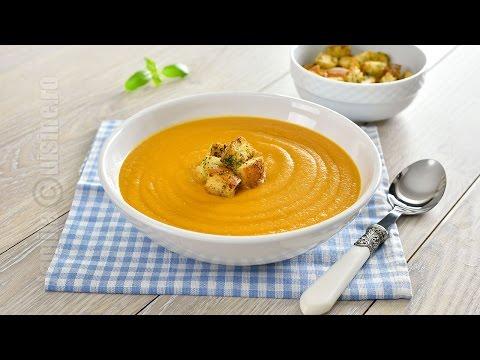 Supa crema de legume coapte | JamilaCuisine