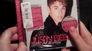 Buying JB's Christmas CD at Midnight!