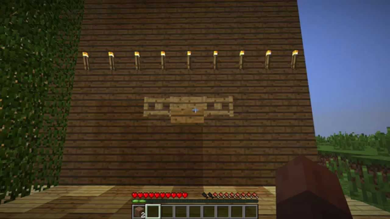 Tutorial Minecraft Moose Head Decoration Youtube