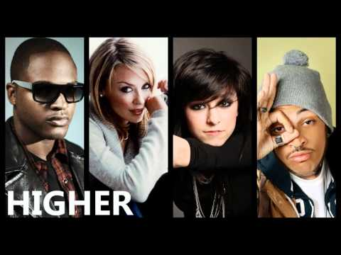 Taio Cruz - Higher ft. Christina Grimmie, Kylie Minogue & Travie McCoy (Mashup)