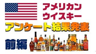 [アンケート企画] アメリカン・ウイスキー -結果発表- 前編