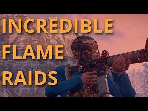 Solo Survival #22 - BEST FLAME RAIDS EVER?!?!