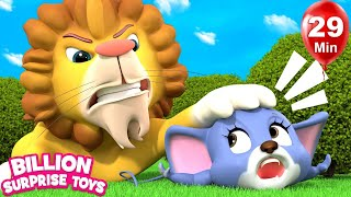 The rat and lion | +More Nursery Rhymes & Kids Songs | Learn with BST