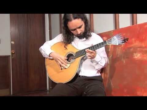 Norwegian Wood improvisation on the Portuguese guitar