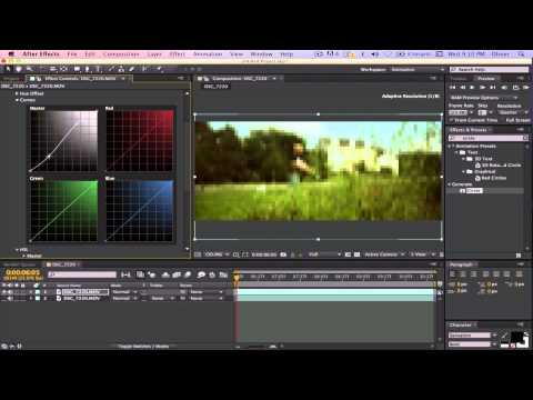 After Effects CS6 : How To Make Your Film Look More Cinematic