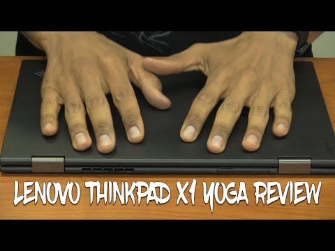 Lenovo ThinkPad X1 Yoga Hands On!