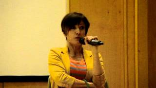 Nana Visitor about Kira/Odo and Rene @ I-CON31